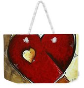 Heartbeat By Madart Weekender Tote Bag
