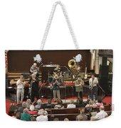 Heartbeat Dixieland Jazz Band Weekender Tote Bag