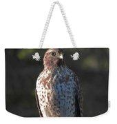 Heartful Hawk Weekender Tote Bag