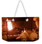 Hearth Warming Dog Weekender Tote Bag