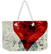 Hearts 3 Square Weekender Tote Bag
