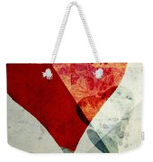 Hearts 6 Square Weekender Tote Bag