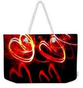Hearts In Color Weekender Tote Bag