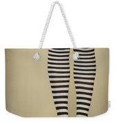 Hearts N Stripes Weekender Tote Bag
