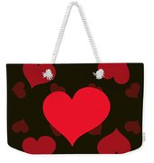 Hearty Delight Weekender Tote Bag