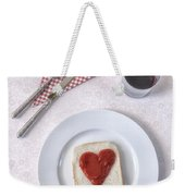Hearty Toast Weekender Tote Bag