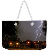 Heat Of The Night Weekender Tote Bag