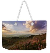 Heather Sunset Weekender Tote Bag
