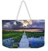 Heavenly Harbor Weekender Tote Bag by Debra and Dave Vanderlaan