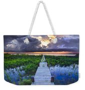 Heavenly Harbor Weekender Tote Bag by Debra and Dave Vanderlaan