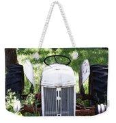 Heavenly Tractor Weekender Tote Bag