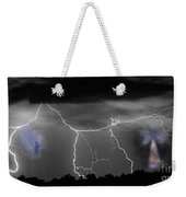 Heavens Gates Happy Easter Weekender Tote Bag