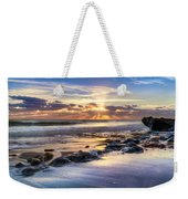 Heaven's Lights Weekender Tote Bag