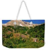 Heavens Peak Glacier International Peace Park Weekender Tote Bag
