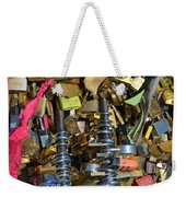 Heavy-duty Love Weekender Tote Bag