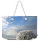 Heavy Frost Weekender Tote Bag by Anne Gilbert