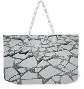 Heavy Pack Ice Terre Adelie Land Weekender Tote Bag