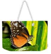 Hecale Longwing Butterfly Weekender Tote Bag