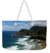 Heceta Head Weekender Tote Bag by Darren  White