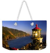 Heceta Head Moonrise Weekender Tote Bag