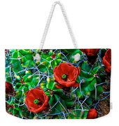 Hedgehog In Bloom Weekender Tote Bag