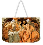 Heidsieck Champagne Poster Advert Weekender Tote Bag by Philip Ralley