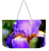 Heirloom Iris Purple Weekender Tote Bag