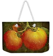 Heirloom Tomatoes On The Vine Weekender Tote Bag