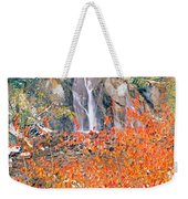 Life Is An Arbitrary Eruption Of The Inexplicable And Ineffable.  Weekender Tote Bag
