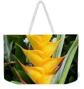 Heliconia Caribea Weekender Tote Bag