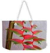 Heliconia Platystachys Weekender Tote Bag