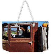 Hell Bent To Market Weekender Tote Bag