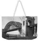 Hell Gate Bridge Weekender Tote Bag