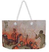 Hell Weekender Tote Bag by Hans Thoma