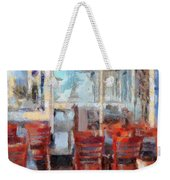 Hellas Restaurant And Bakery  Weekender Tote Bag by L Wright