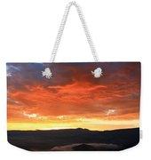 Hello Sunrise Weekender Tote Bag