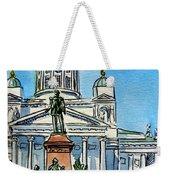 Helsinki Finland Weekender Tote Bag by Irina Sztukowski