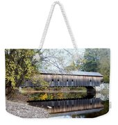 Hemlock Covered Bridge Weekender Tote Bag