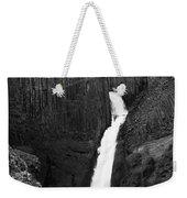 Hengifoss Waterfall Weekender Tote Bag