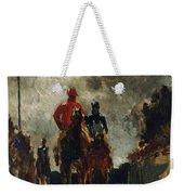 Henri De Toulouse Lautrec Weekender Tote Bag by The Jockeys