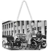 Henry And Edsel Ford Weekender Tote Bag