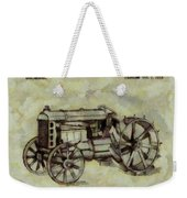 Henry Ford Tractor Patent Weekender Tote Bag