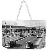 Henry Hudson Drive In New York Weekender Tote Bag
