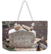Henry Thoreau Weekender Tote Bag