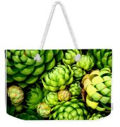 Hens And Chick Plants Weekender Tote Bag