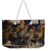 Hens Of Distinction Weekender Tote Bag