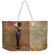 Her Back To The Wall Weekender Tote Bag