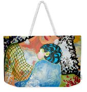 Her Love Weekender Tote Bag by Amy Sorrell