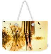 Her Morning Walk Weekender Tote Bag by Bob Orsillo