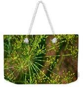 Herbal Abstract Weekender Tote Bag